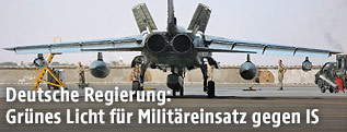 Tornado-Kampfjet der deutschen Bundeswehr