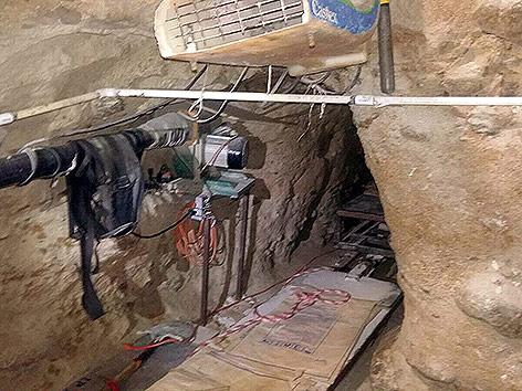 Drogentunnel von Mexiko in die USA