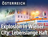 Brand in der Wiener Innenstadt