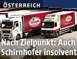 Lkws der Firma Schirnhofer