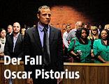 Ocars Pistorius vor Gericht