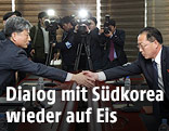 Beginn der Gespräche zwischen Nord- und Südkorea