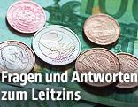 Euromünzen- und Scheine