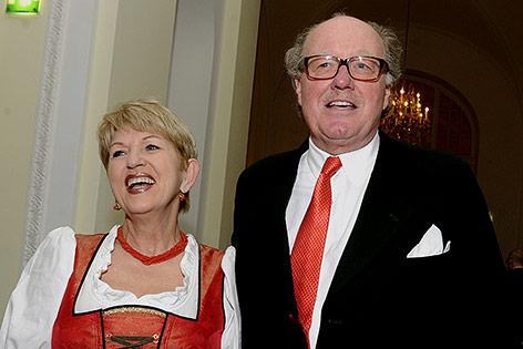 Maria Rauch-Kallat und Alfons Mensdorff-Pouilly, 2014