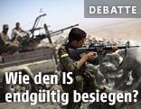 Irakischer Peschmerga-Kämpfer