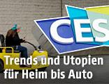 Logo der Elektronikmesse CES