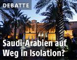 Königspalast in Saudi-Arabien