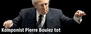 Komponist Pierre Boulez