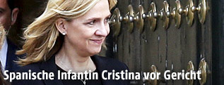 Spaniens Infantin Cristina