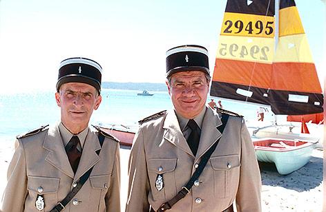 Louis de Funes und Michel Galabru