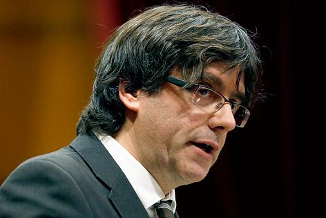 Katalonischer Regierungschef Carles Puigdemont