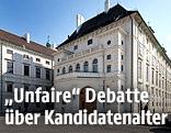 Präsidentschaftskanzlei an der Wiener Hofburg