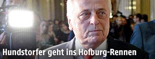 SPÖ-Bundespräsidentschaftskandidat Rudolf Hundstorfer