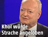 Andreas Khol bei der ZIB