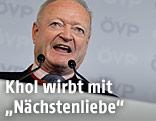 Präsidentschaftskandidat Andreas Khol