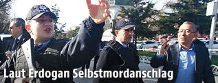 Polizisten in Istanbul