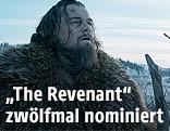 """Szene aus dem Film """"The Revenant"""" mit Leonardo DiCaprio"""