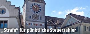 Altstadt Zug mit Zytturm