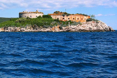 Festung Mamula in Montenegro
