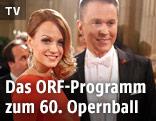 Die ORF-Moderatoren Mirjam Weichselbraun und Alfons Haider