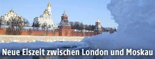 Der Kreml in Moskau im Winter