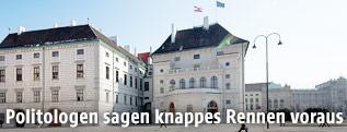 Die Präsidentschaftskanzlei bei der Hofburg