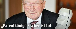 Unternehmer und Erfinder Artur Fischer