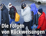 Mehrere Flüchtlinge