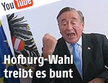 Baumeister Richard Lugner in einem YouTube-Video