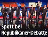 Die republikanischen US-Präsidentschaftskandidaten ohne Trump