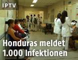 Wartende in einer Krankenstation