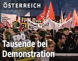 Demos gegen rechten Akademikerball