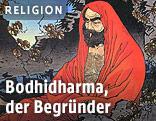 Bildnis von Bodhidharma