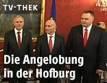 Hans Peter Doskozil (Verteidigungsminister/SPÖ), Gerald Klug (Infrastrukturminister/SPÖ) und Alois Stöger (Sozialminister/SPÖ)