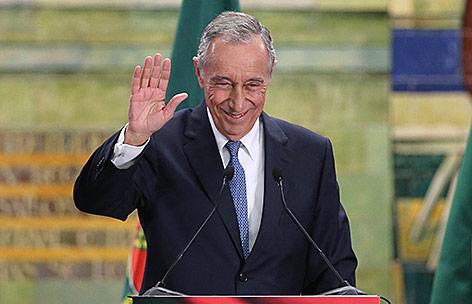 Portugals neu gewählter Präsident Marcelo Rebelo de Sousa