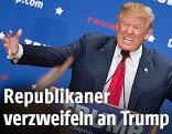 US-Präsidentschaftskandidat Donald Trump