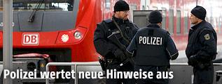 Polizisten am Münchner Hauptbahnhof