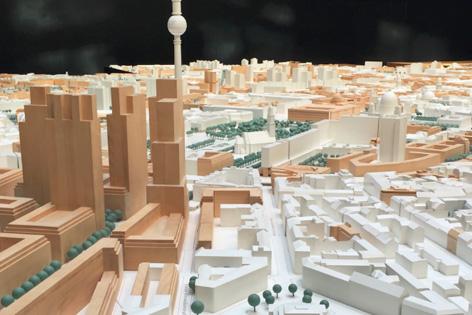 Stadtmodell Berlin Ausbaumodell Berlin