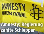 Flagge von Amnesty International