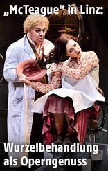 Szene aus der Oper McTeague - Gier nach Gold
