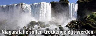 Die American Falls der Niagarafälle