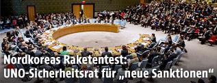 Saal des UN-Sicherheitsrats