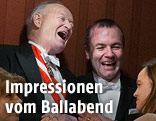 Andreas Khol lacht