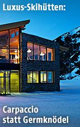 Skihütte Alpenhaus im Skigebiet Silvretta Arena in Ischgl