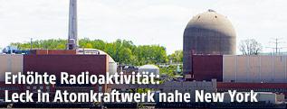 """Das Kernkraftwerk """"Indian Point"""" in den USA"""