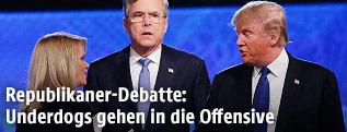 Donald Trump und Jeb Bush