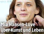 Die französische Autorenfilmerin Mia Hansen-Love