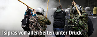 Bauernprotest in Athen