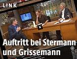 """Screenshot zeigt den Gastauftritt von Roger Willemsen in """"Willkommen Österreich"""""""