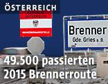 Grenzübergang Brenner, Tirol